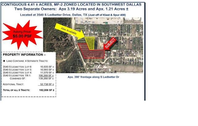 3540 S Ledbetter, Dallas, TX 75236 (MLS #14570584) :: Robbins Real Estate Group
