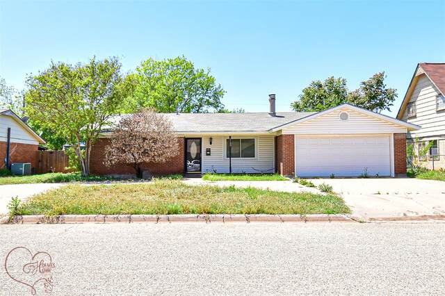 2142 Marsalis Drive, Abilene, TX 79603 (#14570866) :: Homes By Lainie Real Estate Group
