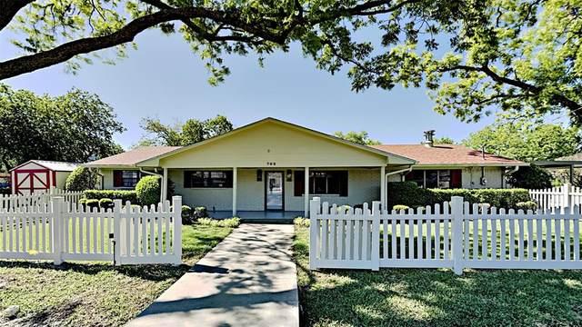 702 Peach Street #2, Sanger, TX 76266 (MLS #14570911) :: Team Hodnett