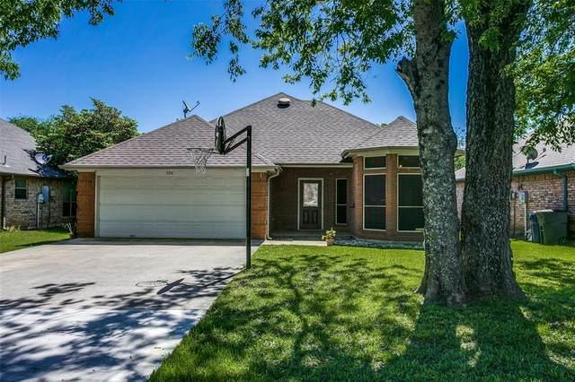 524 Leuty Street, Justin, TX 76247 (MLS #14571114) :: Justin Bassett Realty
