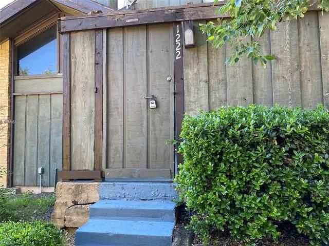 4632 Country Creek Drive #1222, Dallas, TX 75236 (MLS #14571190) :: The Kimberly Davis Group