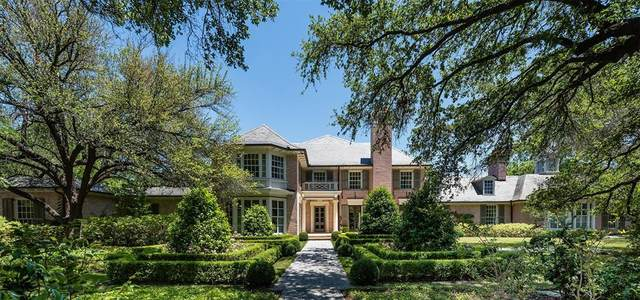 6920 Vassar Avenue, University Park, TX 75205 (MLS #14571435) :: Craig Properties Group