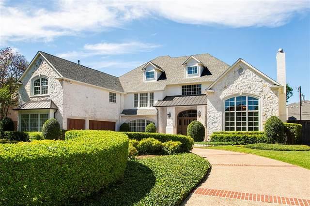 6415 Stefani Drive, Dallas, TX 75225 (MLS #14571476) :: 1st Choice Realty