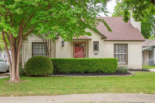 3320 Cockrell Avenue, Fort Worth, TX 76109 (MLS #14571527) :: Front Real Estate Co.