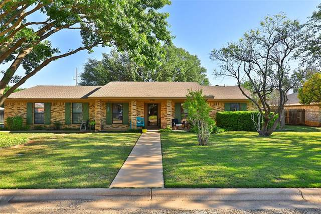 5126 Ryan Circle S, Abilene, TX 79606 (MLS #14571632) :: RE/MAX Landmark