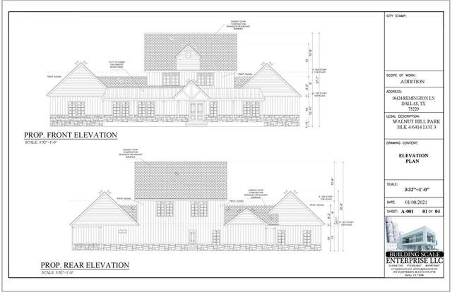 10424 Remington Lane, Dallas, TX 75229 (MLS #14572078) :: Wood Real Estate Group