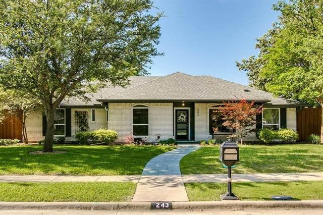 243 High Brook Drive, Richardson, TX 75080 (MLS #14572224) :: Front Real Estate Co.
