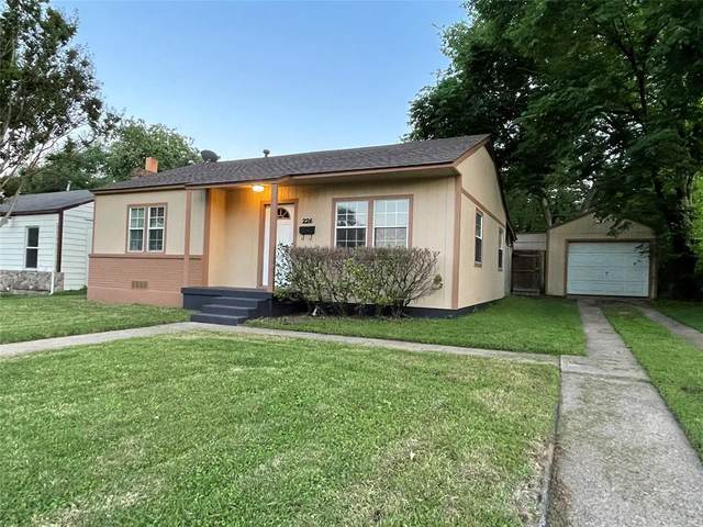 226 W 11th Street, Irving, TX 75060 (MLS #14572300) :: Front Real Estate Co.