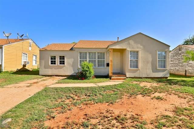 2342 N 18th Street, Abilene, TX 79603 (MLS #14572341) :: Front Real Estate Co.