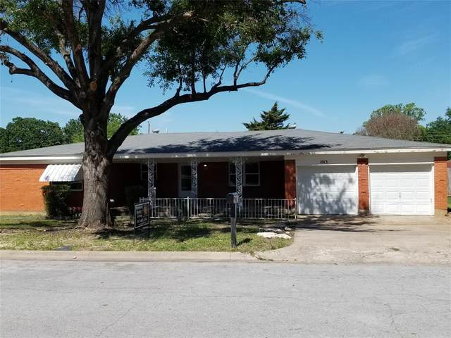 1013 Eunice Street, Hurst, TX 76053 (MLS #14572570) :: Wood Real Estate Group