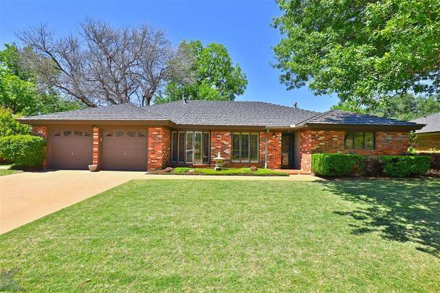 150 Lawrence Circle, Abilene, TX 79605 (MLS #14572790) :: Front Real Estate Co.
