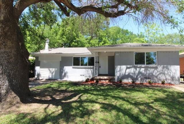 1401 Crestridge Drive, Mesquite, TX 75149 (MLS #14572861) :: The Chad Smith Team