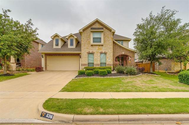 836 Monticello Drive, Burleson, TX 76028 (MLS #14573008) :: The Hornburg Real Estate Group