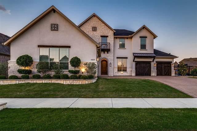 4205 Pearl Crescent Lane, Arlington, TX 76005 (MLS #14573071) :: Team Hodnett