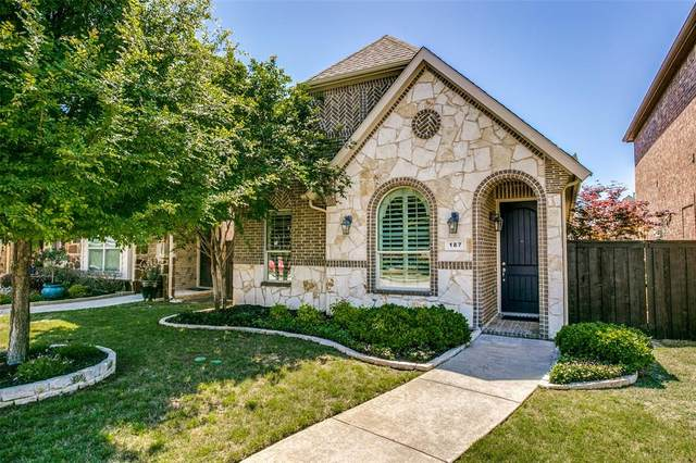 187 Carrington Lane, Lewisville, TX 75067 (MLS #14573097) :: Team Tiller
