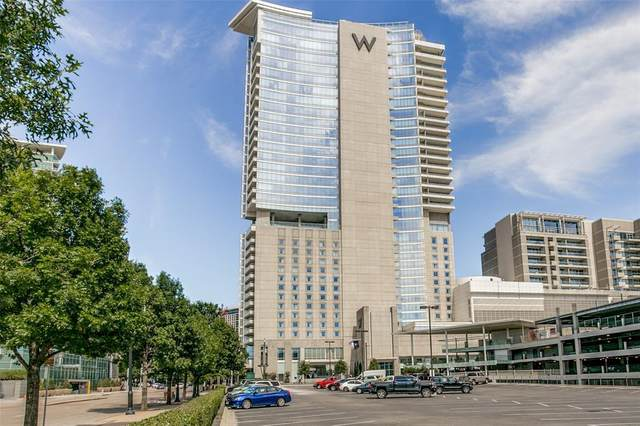 2430 Victory Park Lane #2608, Dallas, TX 75219 (MLS #14573581) :: All Cities USA Realty