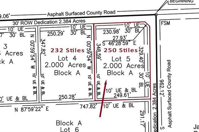 250 Stiles Road, Whitesboro, TX 76273 (MLS #14573591) :: The Mauelshagen Group
