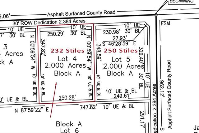 232 Stiles Road, Whitesboro, TX 76273 (MLS #14573599) :: The Mauelshagen Group