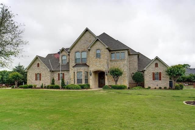 8439 Steeplechase Circle, Argyle, TX 76226 (MLS #14573633) :: Real Estate By Design