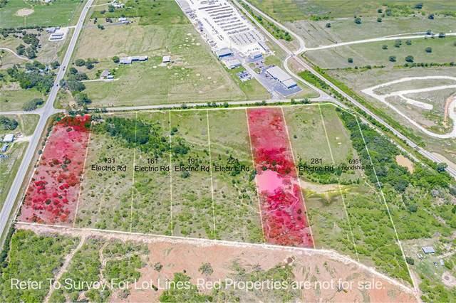 131 Electric Road, Tolar, TX 76476 (MLS #14573936) :: Craig Properties Group