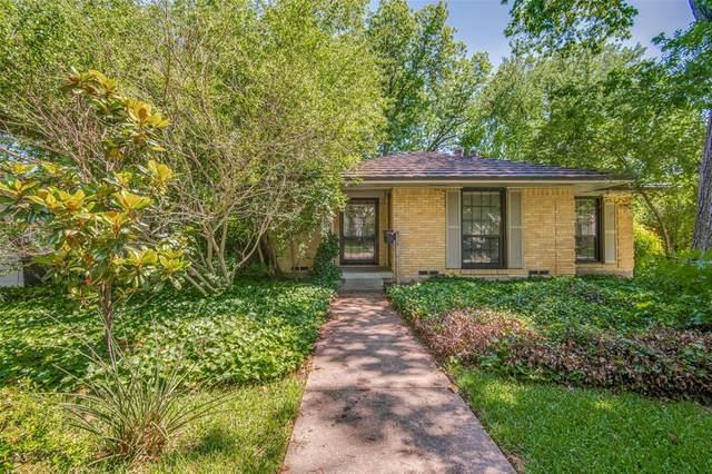 3860 Van Ness Lane, Dallas, TX 75220 (MLS #14573946) :: Real Estate By Design