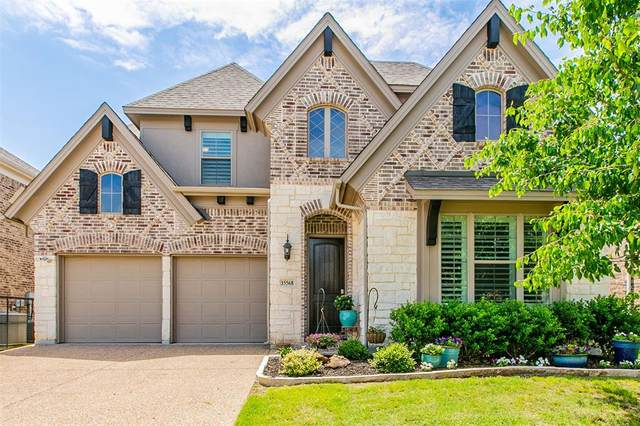 15568 Yarberry Drive, Fort Worth, TX 76262 (MLS #14574212) :: Justin Bassett Realty