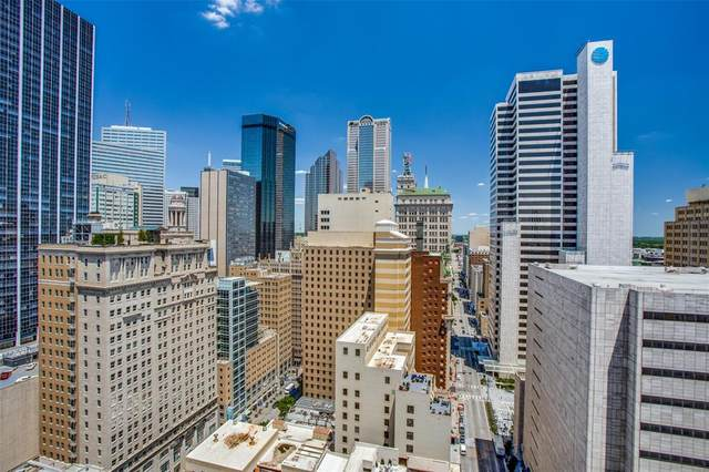 1200 Main Street #2212, Dallas, TX 75202 (MLS #14574295) :: The Chad Smith Team