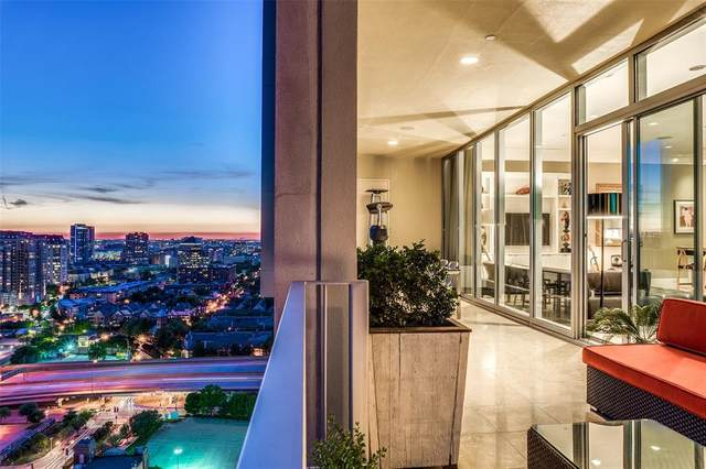 1717 Arts Plaza #1903, Dallas, TX 75201 (MLS #14574604) :: 1st Choice Realty