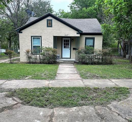 407 W 6th Street, Cisco, TX 76437 (MLS #14574617) :: The Tierny Jordan Network