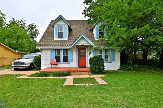 1626 Orange Street, Abilene, TX 79601 (MLS #14574634) :: The Kimberly Davis Group
