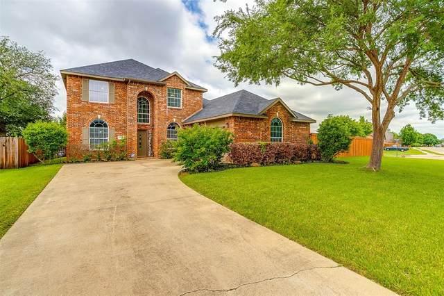 1400 Blue Gill Lane, Crowley, TX 76036 (MLS #14574867) :: EXIT Realty Elite