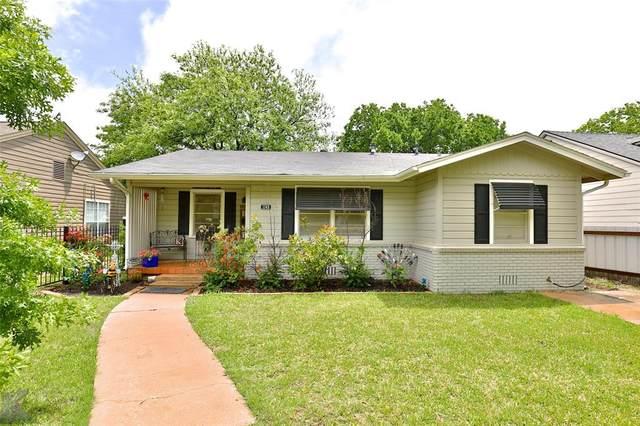 1149 Vine Street, Abilene, TX 79602 (MLS #14574899) :: 1st Choice Realty