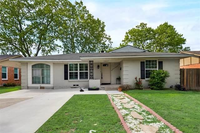 1827 Rosemont Street, Mesquite, TX 75149 (MLS #14575136) :: The Chad Smith Team