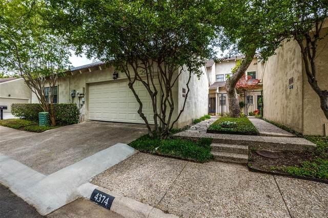 4374 Cochran Chapel Circle, Dallas, TX 75209 (MLS #14575236) :: The Good Home Team