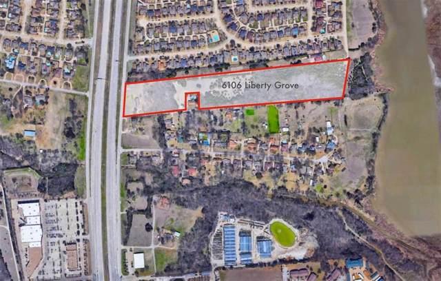 6106 Liberty Grove Road, Rowlett, TX 75089 (MLS #14575269) :: Premier Properties Group of Keller Williams Realty