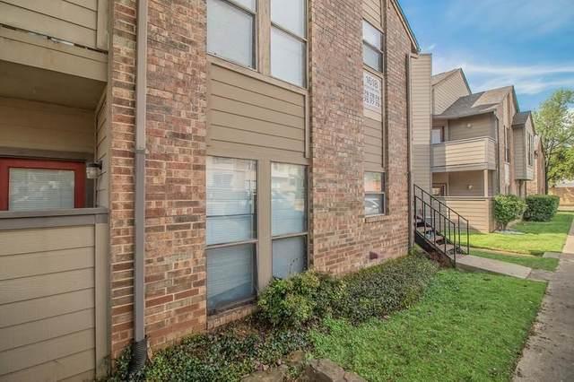 1600 Pecan Chase Circle #18, Arlington, TX 76012 (MLS #14575286) :: The Chad Smith Team