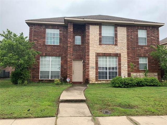 1406 Marblecrest Drive, Lewisville, TX 75067 (MLS #14575561) :: 1st Choice Realty