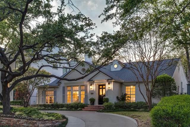 4538 Arcady Avenue, Highland Park, TX 75205 (MLS #14575626) :: Maegan Brest | Keller Williams Realty