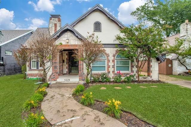 5314 Bradford Drive, Dallas, TX 75235 (MLS #14575797) :: Team Hodnett