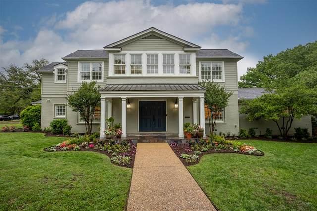 3924 Lenox Drive, Fort Worth, TX 76107 (MLS #14576041) :: The Hornburg Real Estate Group