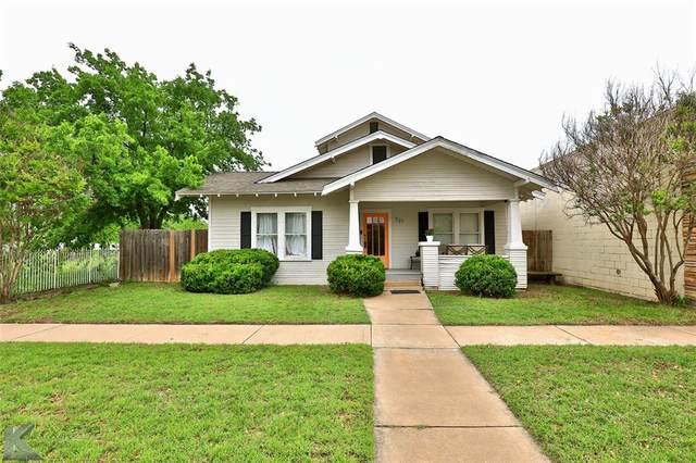721 Hickory Street, Abilene, TX 79601 (MLS #14576102) :: VIVO Realty