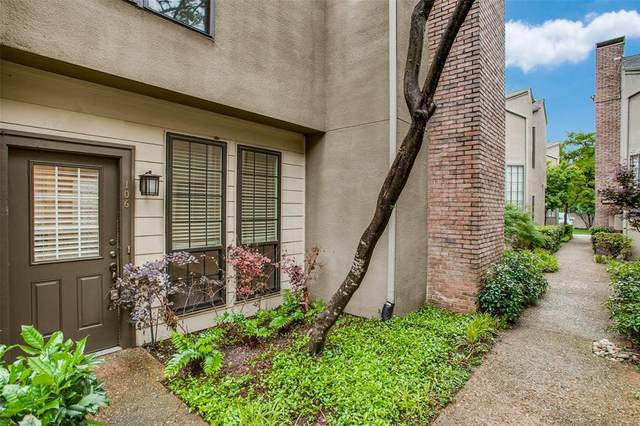4132 Cole Avenue #106, Dallas, TX 75204 (MLS #14576137) :: The Tierny Jordan Network