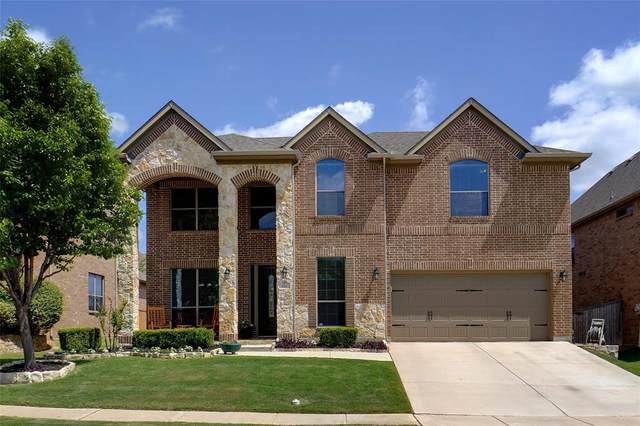 420 Brighton Street, Roanoke, TX 76262 (MLS #14576286) :: Justin Bassett Realty
