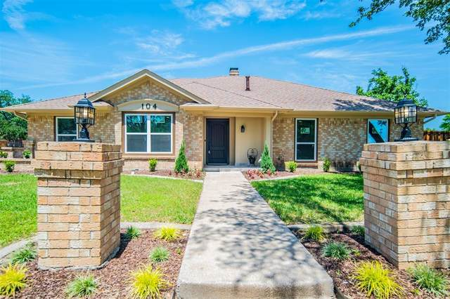 104 Baker Court, Hurst, TX 76054 (MLS #14576388) :: The Star Team | JP & Associates Realtors