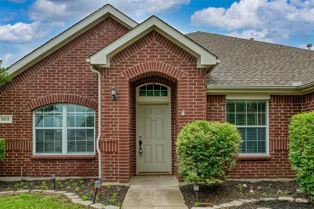 503 Dover Park Trail, Mansfield, TX 76063 (MLS #14576392) :: Real Estate By Design