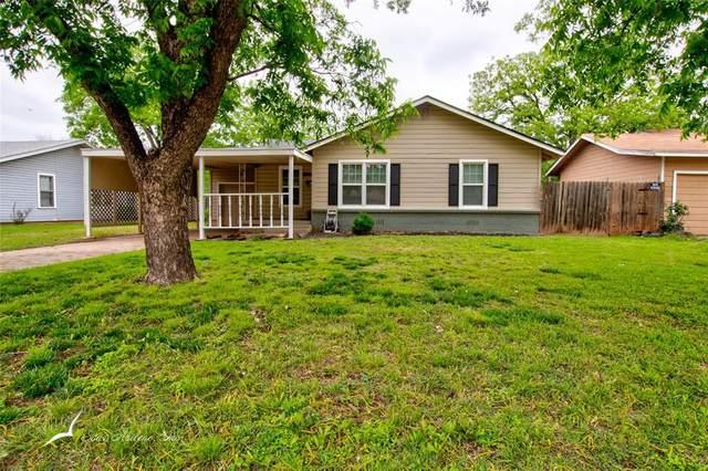 909 Shelton Street, Abilene, TX 79603 (MLS #14576609) :: VIVO Realty