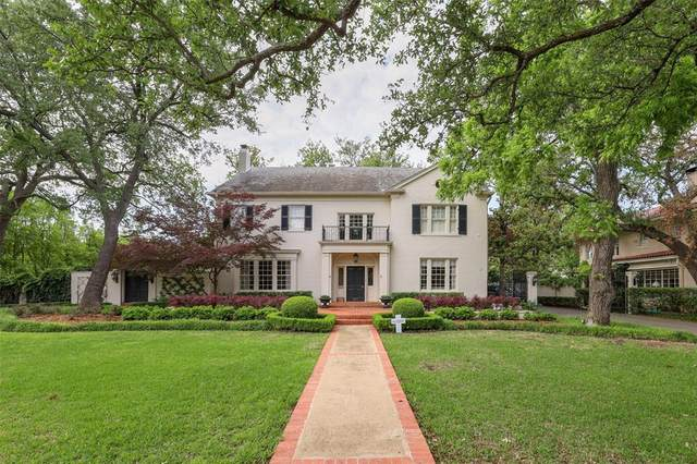 3801 Beverly Drive, Highland Park, TX 75205 (MLS #14576782) :: Robbins Real Estate Group