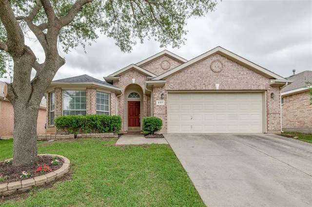 407 Paint Rock Court, Euless, TX 76040 (MLS #14576885) :: The Mitchell Group