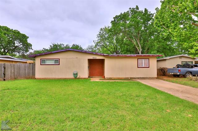 3513 N 10th Street, Abilene, TX 79603 (MLS #14577054) :: Premier Properties Group of Keller Williams Realty