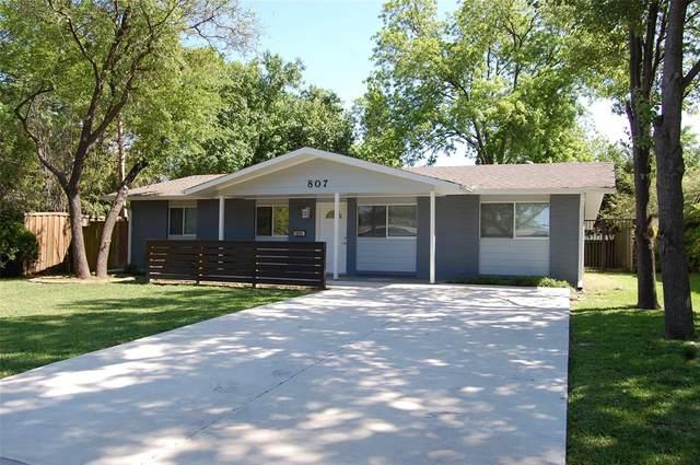 807 Vinecrest Lane, Richardson, TX 75080 (MLS #14577302) :: The Kimberly Davis Group